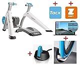 Tacx Trainer Vortex SMART Zwift Edition Set Reifen ANT+ Software 3 Mon. •Zwift Software 1 Mon.