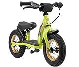 BIKESTAR Kinder Laufrad Lauflernrad Kinderrad für Jungen und Mädchen ab 2-3 Jahre  10 Zoll Classic Kinderlaufrad  Grün