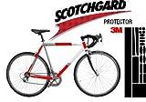 3M Lackschutz Folie Schutz für Fahrrad transparent (Bogen gross 'Mountain' ca. 0,225mm stark/ 170x560mm)