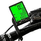 Fahrradcomputer, Bike Kilometerzähler TACHO für Fahrrad, kabellos Wasserdicht Große LCD-automatische Hintergrundbeleuchtung Bewegungsmelder für Speed Abstand Beine geradelt Radfahren Zubehör