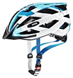 Uvex Kinder Fahrradhelm Air Wing, Blue White, 52-57 cm