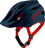 Alpina Unisex Jugend Carapax JR. Fahrradhelm, Indigo matt, 51-56 cm