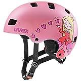 Uvex Unisex Kinder Kid 3 cc Kinderfahrradhelm, pink mat, 51-55 cm