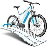 uProtect E Bike Lackschutzfolie für eBike, Pedelec, Elektro Fahrrad, E-Bike, MTB etc. - 20-teiliges Rahmen-Set gegen Steinschlag - Transparent & selbstklebend
