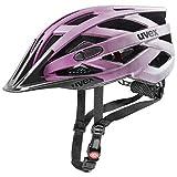 Uvex Unisex– Erwachsene i-vo cc Fahrradhelm, Dark Pink Mat, 52-57 cm