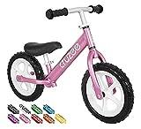 Cruzee Balance Bike (4.4 lbs) für Kinder ab 1,5 bis 5 Jahre (orange)