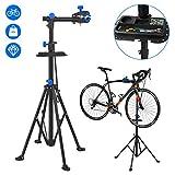 HENGMEI Fahrradmontageständer Fahrrad Reparaturständer Fahrradständer Klappbar & Höhenverstellbar Belastbar bis 50kg