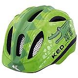 KED MEGGY REPTILE 2016 Kinder-Fahrradhelm Kleinkind viele Farben, Größe:49-55 cm;Farbe:Green Croco
