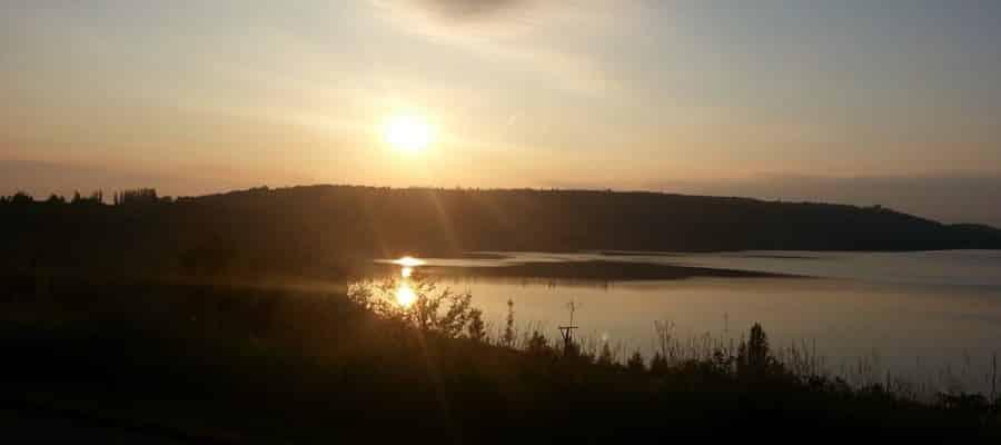 Sonnenaufgang 5 Uhr morgens