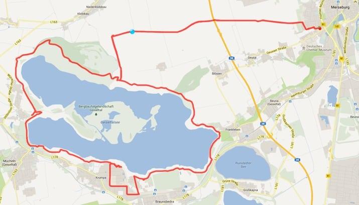 Radtour Am Geiseltalsee Tests Erfahrungen Im Fahrrad Blog