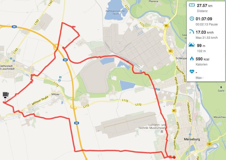 GPS Teststrecke