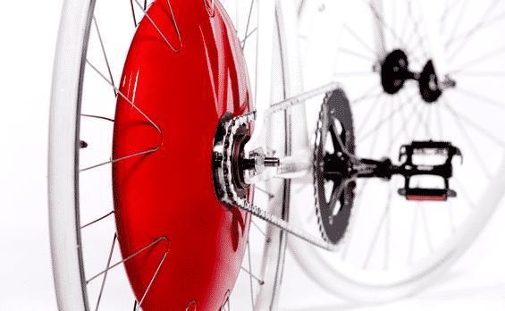 Copenhagen Wheel - Hinterradantrieb