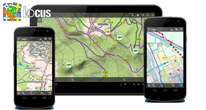 Locus Android App