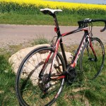 Scott CR1 mit SRAM Red 22 Gruppe