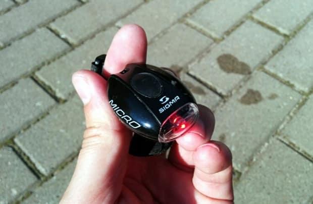 Sigma Micro LED rot
