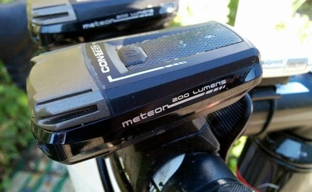 Contec LED Meteor Fahrradleuchte