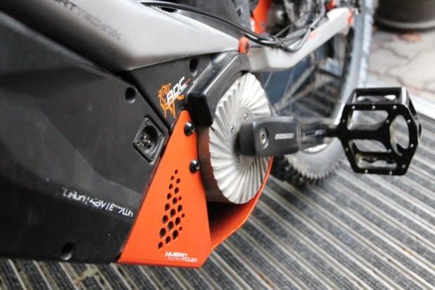 Mittelmotor / Antrieb über das Tretlager (von M1 Sporttechnik:)