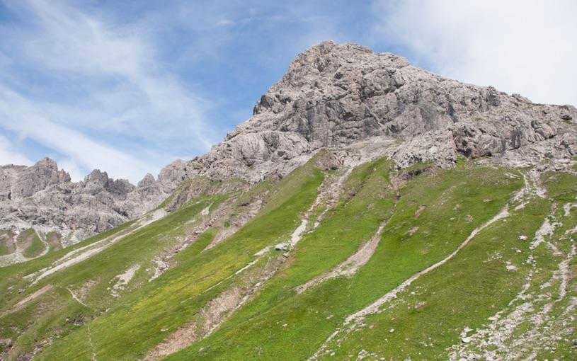 Alpen bei Oberstdorf