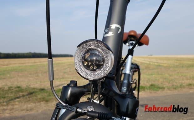Verkehrssicheres Fahrrad-Frontscheinwerfer