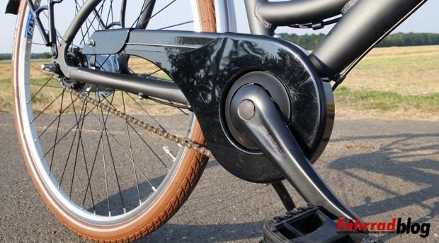 Verkehrssicheres Fahrrad-Kettenschutz