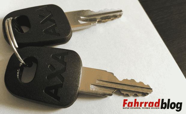 AXA FLC 800 Schlüssel