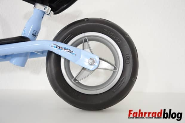 solide Reifen und Laufräder am Laufrad