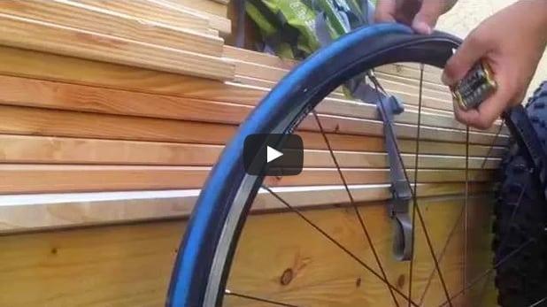 Reifenwechsel am Rennrad