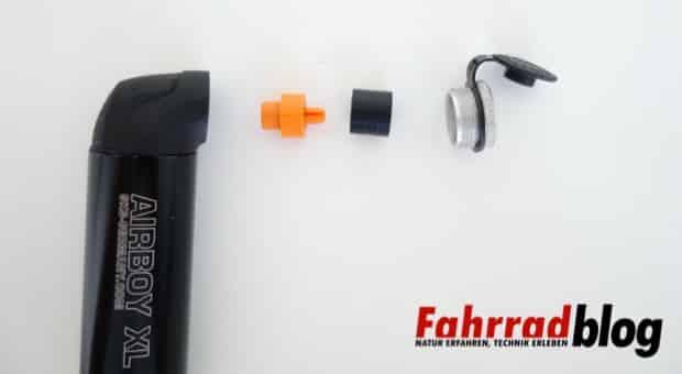 SKS Airboy XL Ventilkopf Einzelteile