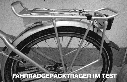 Fahrradgepäckträger im Test