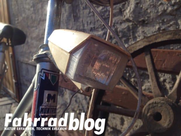 DDR Frontscheinwerfer fürs Fahrrad