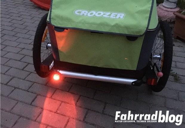 Beleuchtung Croozer | Rucklicht Fur Kinderfahrradanhanger Fahrrad Blog