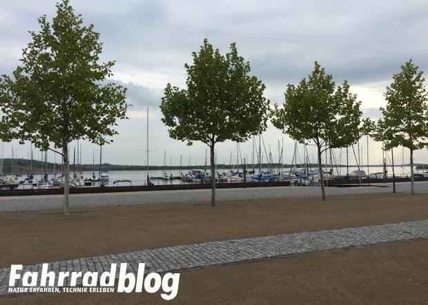 Der Hafen Marina Mücheln