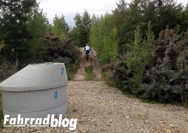 MTB Radtour am Geiseltalsee