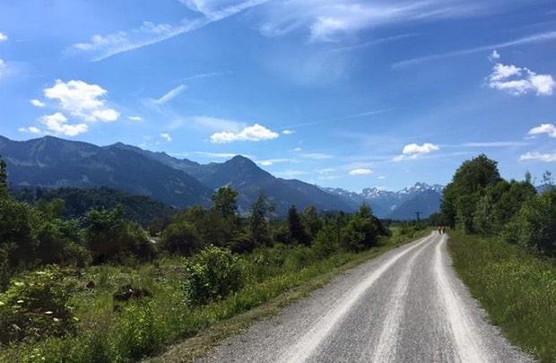 Radtour von Flensburg nach Oberstdorf - Ziel