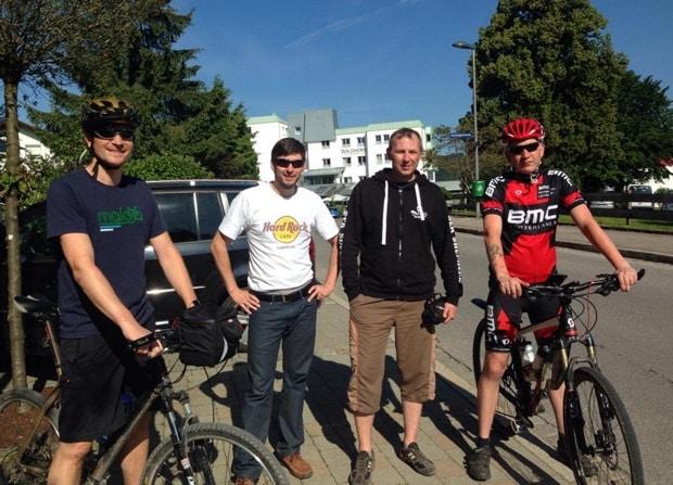 Radtour von Kempten nach Oberstdorf