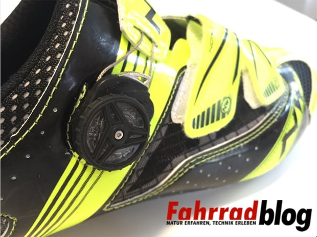 Rennradschuhe Verschluss