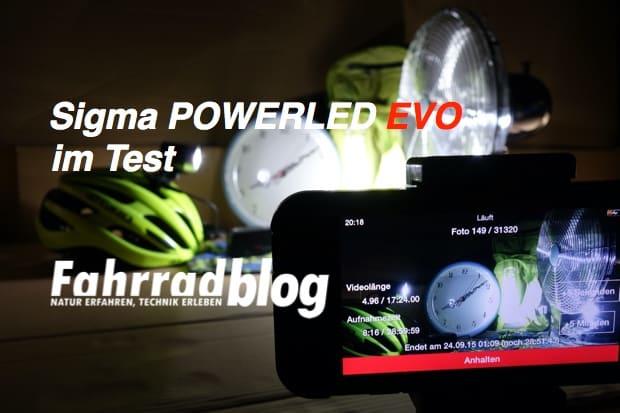 Sigma POWERLED EVO Test