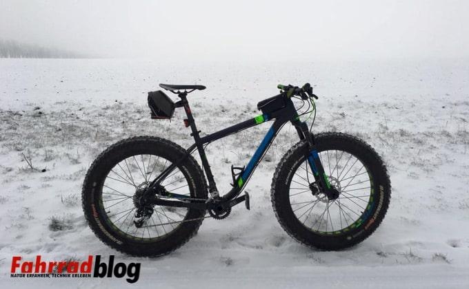 Scott Big Ed Fatbike im Schnee