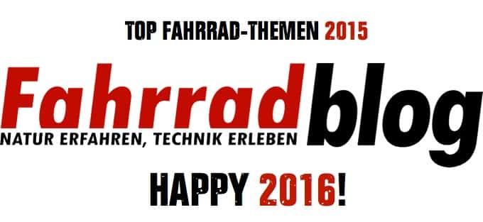 TOP Fahrrad-Themen 2015