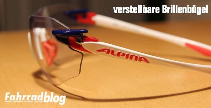 Verstellbare Brillenbügel
