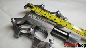 Titanium Pedal 80x80mm