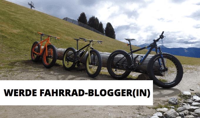 Fahrradblogger(in) werden