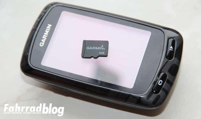 Kleine Micro-SD Speicherkarte