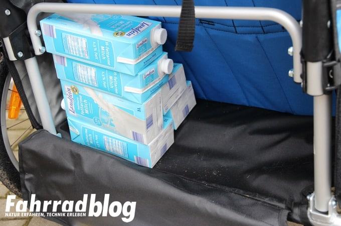 bepackter Kofferraum