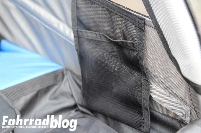 Integrierte Taschen im Innenraum