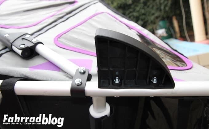 Laufradschutz am Qeridoo Speedkid2