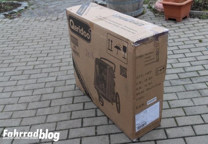 Qeridoo Speedkid2 in der Verpackung