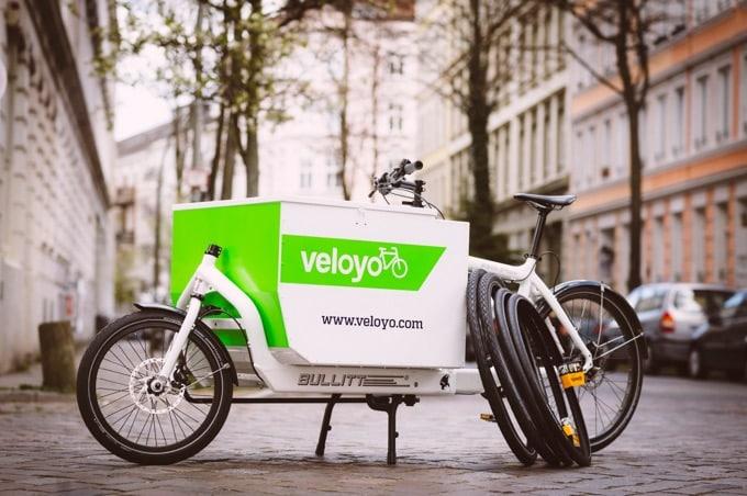 Das Veloyo Service- / Lastenfahrrad