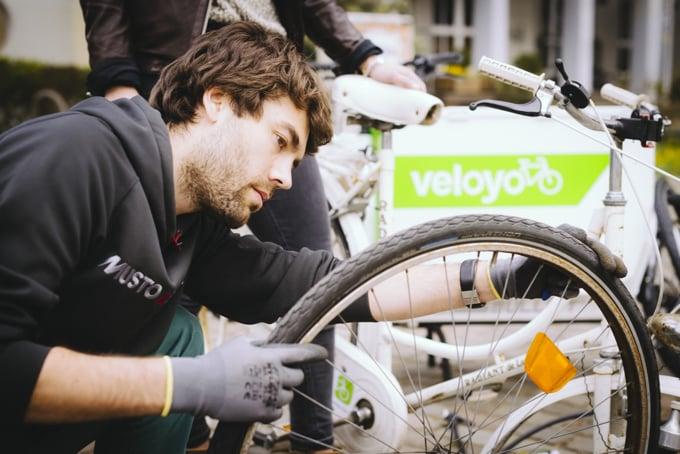 Veloyo - die mobile Fahrradwerkstatt