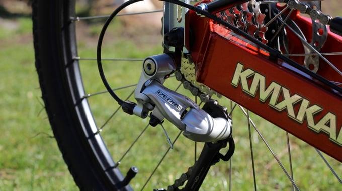 KMX Cobra X mit Shimano Deore Schaltwerk